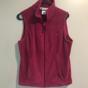 Columbia Fleece Vest Size Medium